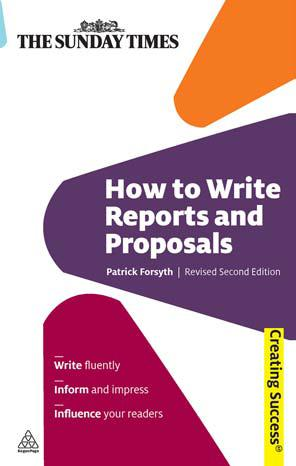 writing reports and proposals csc How to write reports and proposals is essential reading for achieving effective  writing techniques getting a message across on paper and presenting a.